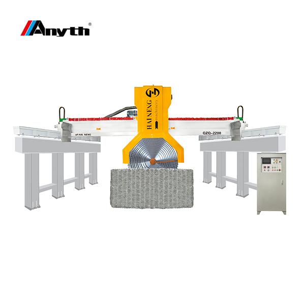 ANYTH-2200-1 آلة قطع البلوك الموجهة بالدليل (نوع عمود التوجيه)