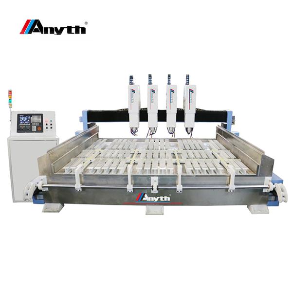 ANYTH-3020E آلة نقش الحجر مع طاولة دوارة (إطار ثقيل)